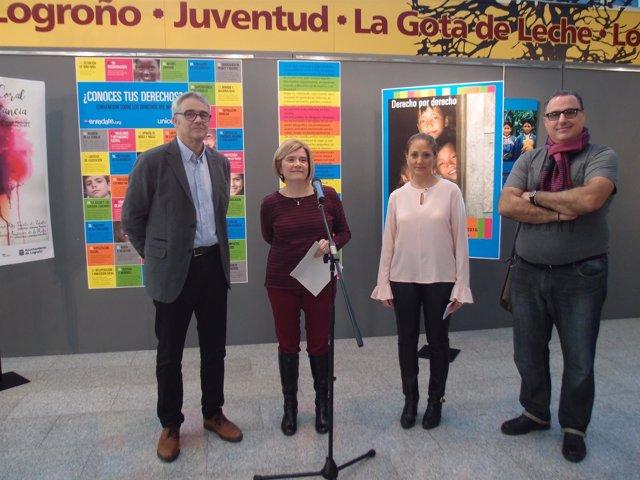 La exposición se ubica en La Gota de Leche