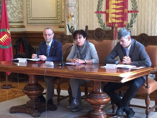 Rafaela Romero, en la presentación del manifiesto.