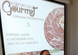 El jamón protagoniza la tercera jornada del programa 'Extremadura Gourmet' en Jerez de los Caballeros
