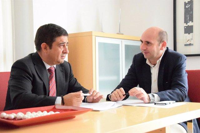 AUDIO Y FOTOS. Rueda De Prensa Francisco Conejo Y Francisco Reyes