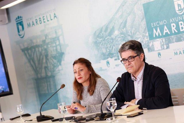 Rueda de prensa junta de gobierno local de Marbella