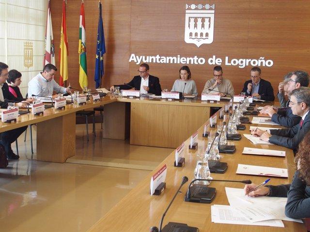 Comisión infraestructuras del Ayuntamiento
