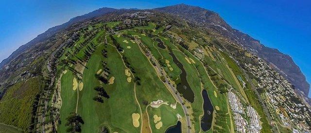 Campo de golf en 360 grados, golf, turismo, deporte