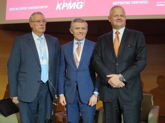 J.Roura (Faconauto), J.Pérez Botello (Vaesa) y M.Sachon (Iese)