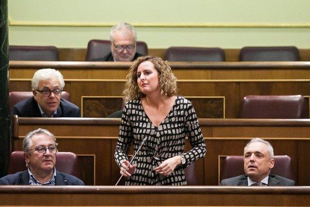 Carlota Merchán, diputada del PSOE