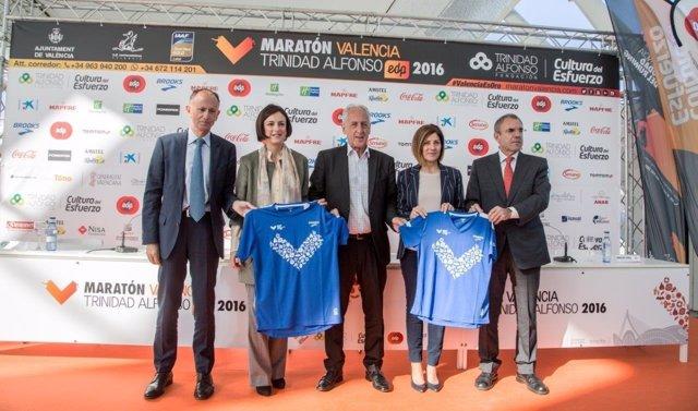 Presentación del Maratón de Valencia