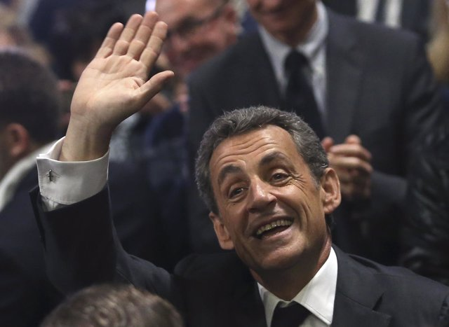Elexpresidente francés Nicolas Sarkozy