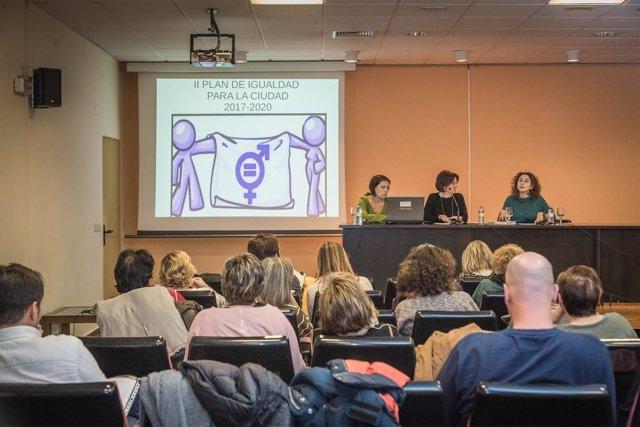 Reunión sobre el Plan de Igualdad 2017-2020