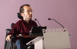 """Podemos rebaja al nivel de """"propuesta"""" el plan de Andalucía de ser partido autónomo"""