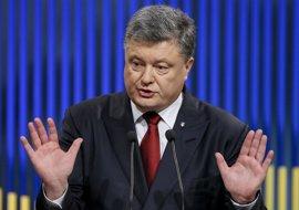 """Poroshenko pide a Trump mantener el apoyo de EEUU a Ucrania frente a """"la agresión rusa"""""""