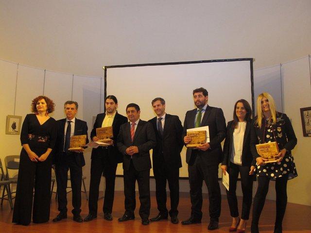 Entrega de los Premios Emprende e Innova de la Diputación de Jaén