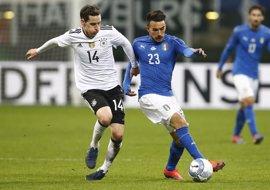 Italia levanta el muro ante Alemania y Francia se atraganta sin Griezmann