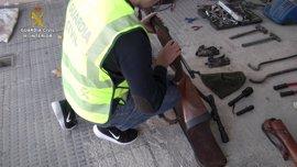 Detenido un vecino de Aliseda por al menos ocho robos en fincas de la Sierra de San Pedro