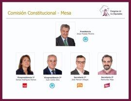 Posada, elegido por unanimidad presidente de la Comisión Constitucional del Congreso