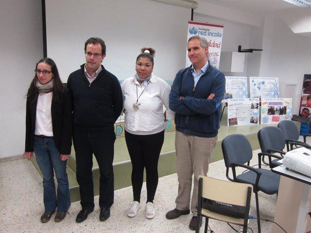 Silvia Arribas, Eduardo Menchaca, Juliana Marte y Alberto Ares