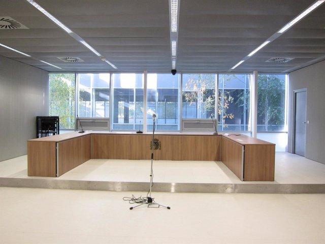 Sala de Vista de la Audiencia Provincial de La Rioja en nuevo Palacio Justicia