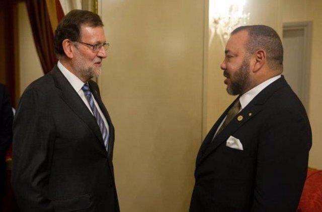 Mariano Rajoy y Mohamed VI