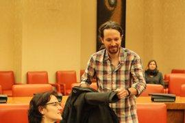 """Iglesias dice que el Consejo Ciudadano de Madrid decidirá sobre López: """"Aquí no mando yo, estaría bueno"""""""