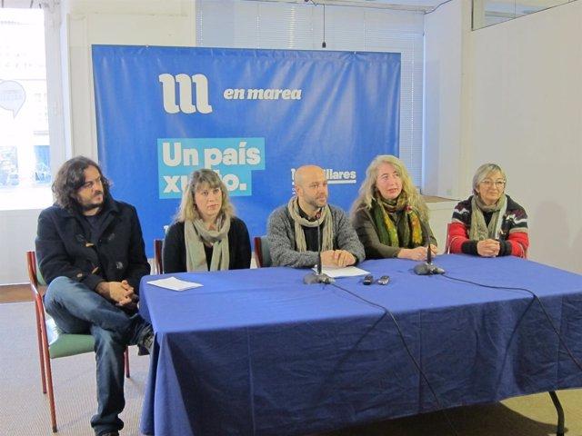Diputados de En Marea ofrecen una rueda de prensa