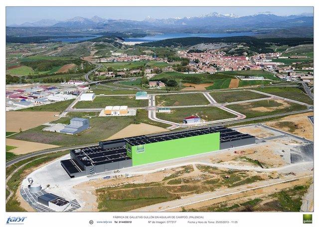 Imagen de la planta de Gullón en Aguilar de Campoo