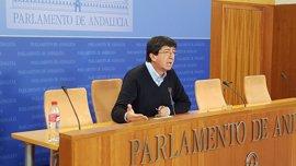 """Marín cree que el PP-A """"está deseando"""" apoyar el Presupuesto y le pide """"arrimar el hombro"""""""