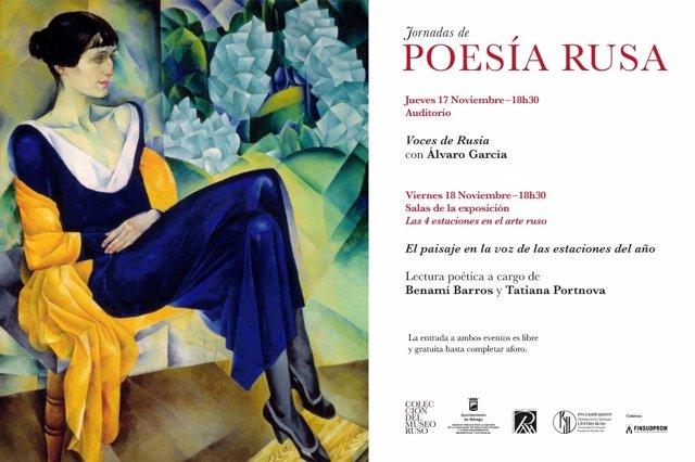 Cartel poesía rusa en la Colección del Museo Ruso