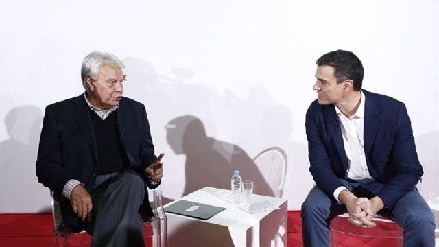 "Felipe González se siente ""engañado"" por Sánchez"