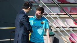 """Bartomeu: """"Estamos todos convencidos de que Messi acabará su carrera en el Barça"""""""