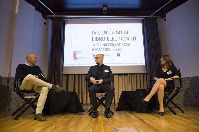 Barbastro ya está celebrando el Congreso del Libro Electrónico