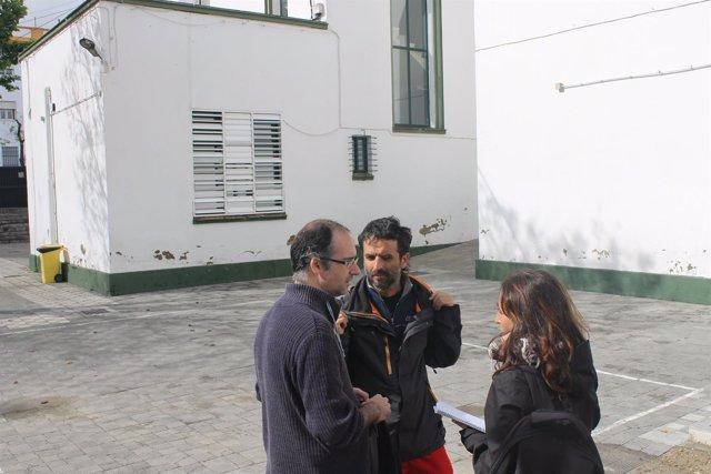 Honorato visita los colegios de Sevilla.