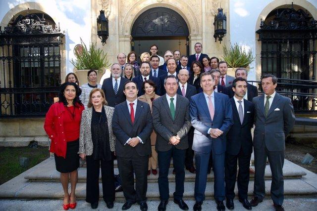 Encuentro entre la UPO y el Cuerpo Consular de Sevilla