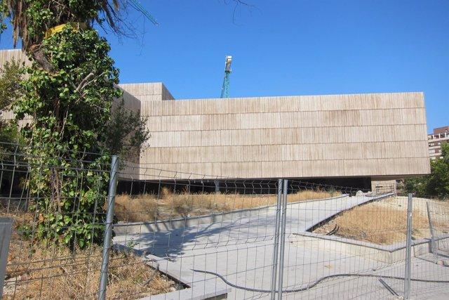 Vista exterior del futuro Museo de Arte Íbero.