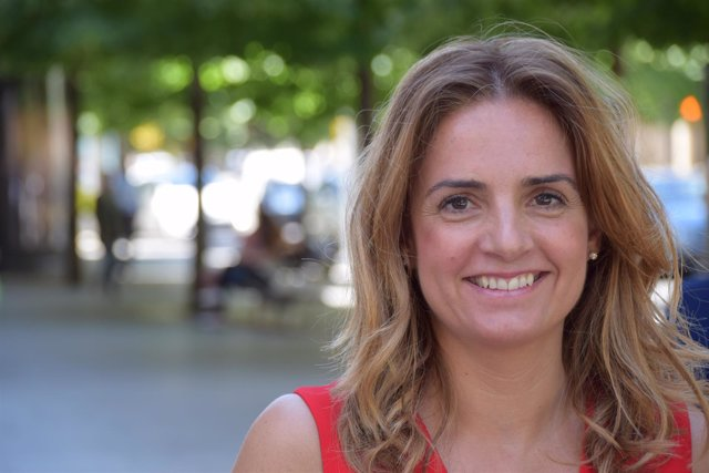Susana Sumelzo, en Zaragoza.