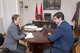 """Barkos mantiene una reunión de trabajo con el alcalde de Alsasua y traslada su """"solidaridad a la sociedad alsasuarra"""""""