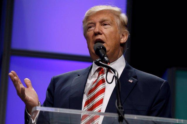 El presidente electo de Estados Unidos, Donald Trump