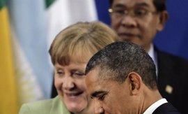 Obama y Merkel subrayan los beneficios del futuro acuerdo comercial entre EEUU y la UE