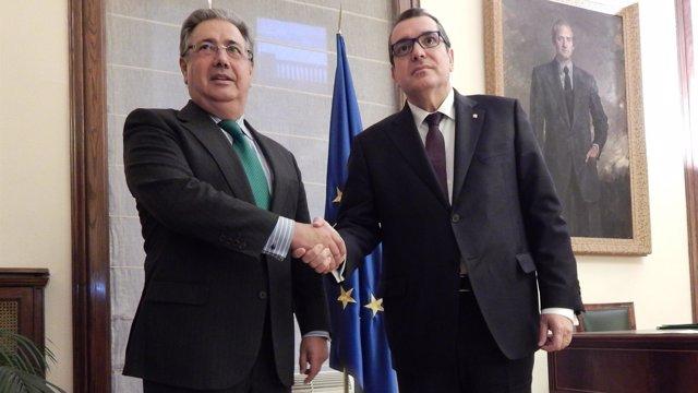 MINISTERIO DEL INTERIOR: El Ministro Del Interior, Juan Ignacio Zoido, Se Ha Reu