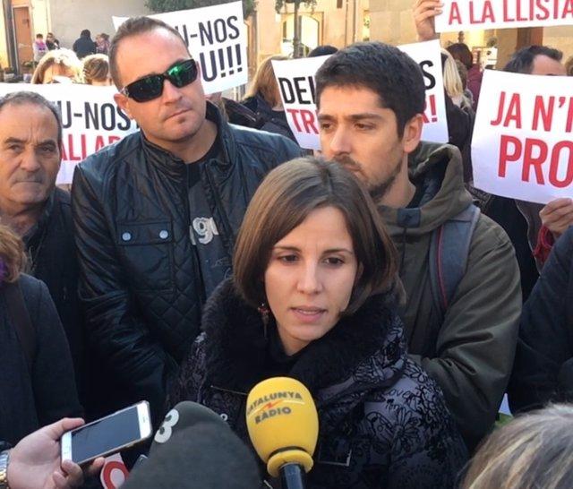 La concejal de Almacelles Lliure Laia Martí