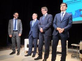 """Puigdemont cree que el Estado """"desconecta"""" de Europa y pide a la UE escuchar a Catalunya"""