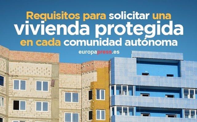 Requisitos para solicitar una vivienda protegida