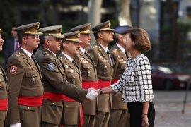 Cospedal conoce a los 11 tenientes generales del Ejército de Tierra que aspiran a JEMAD