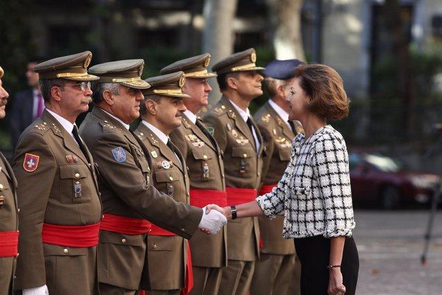 Cospedal preside la reunión del Consejo Superior del Ejército