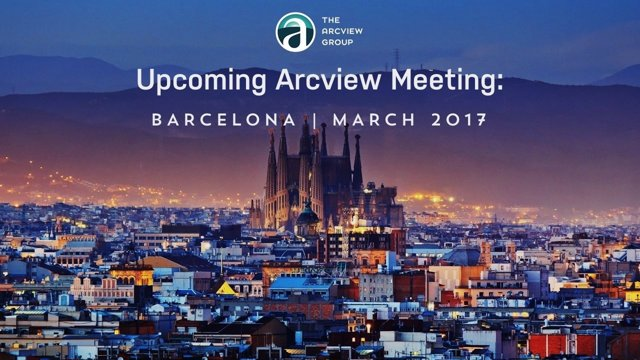 Arcview Group organiza un fòrum sobre el cannabis legal en Barcelona.
