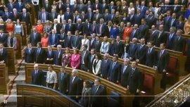 Pablo Iglesias denuncia que los senadores del PP 'okupan' sus escaños en el Congreso