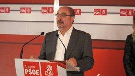 """Lambán augura un """"problema importante"""" si PSOE y PSC no tienen el mismo proyecto"""
