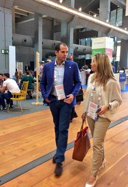 Ignacio Aguado y Susana Solís