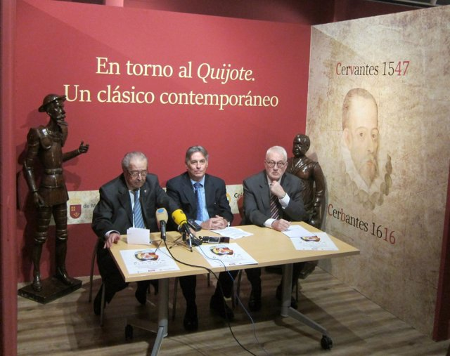 Inaguración de la exposición 'En torno al Quijote. Un clásico contemporáneo'
