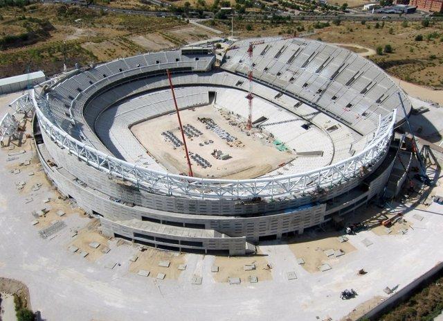 Estadio de La Peineta de Madrid