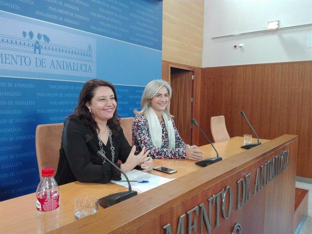 Carmen Crespo, hoy junto a Patricia del Pozo