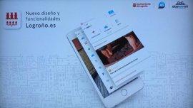 La nueva app Logroño.es permitirá personalizar portada y elegir contenidos en 'mi nube'